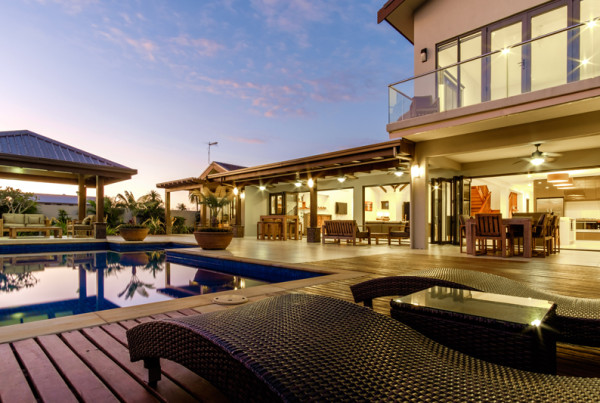 Outdoor View Poolside
